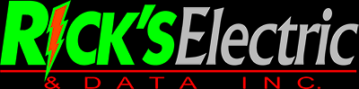 Rick's Electric and Data, Inc. Logo